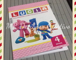 Revistinha Colorir Pocket - Pocoyo