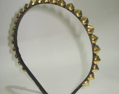 Tiara de Spikes Gold