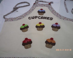 Avental CupCakes