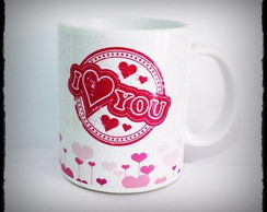 Caneca I Love You 2