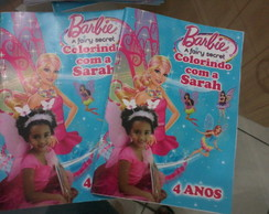 Revista para colorir Barbie