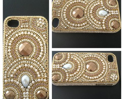 Case Gold Dallana p Iphone 4/S