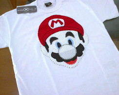 Camiseta do Mario Bros