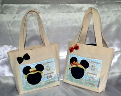 Eco bag para doces Michey/ Minnie