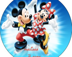 Latinha Mickey e Minnie