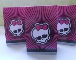 Caixas para festa de monster high