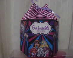 Caixa Sextavada Monster high!!