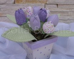 GZ 5000 Vaso decorativo Tulipas