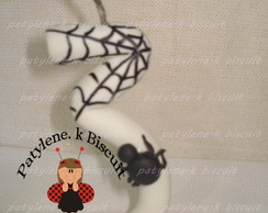 VELA DECORADA HOMEN ARANHA DE BISCUIT