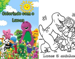 Revista Colorir com giz Discovery Kids