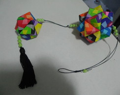 Kusudama Sonobe (colorida)