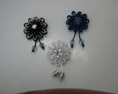 Broches Flor