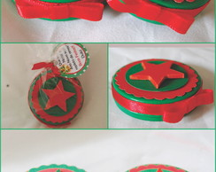 Latinha Mint To Be 5x1 - Tema Natal Verd