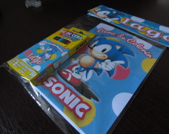 Mini Kit de Colorir - Sonic