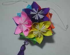 Kusudama Morning Dew (Colorida)