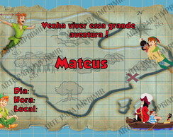 Convite Mapa do Tesouro 3