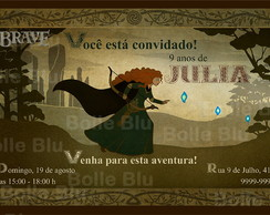 Valente Merida Disney Convite Digital