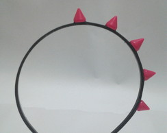 Tiara Spike Color Pink