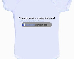 Body ou Camisetinha Face Baby