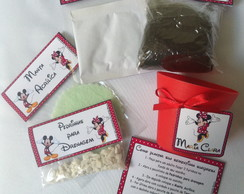 Kit Ecológico - Tema Minnie e Mickey