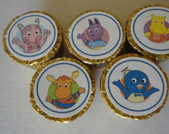 "Chocolate Alpino decorado""Backyardigans"""