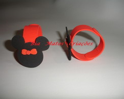 Porta-guardanapos Minnie e Mickey