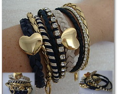 Bracelete Mix Navy Blue