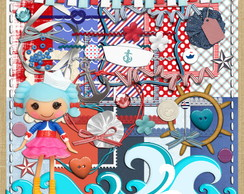 Kit#201 Marina Anchors Lalaloopsy