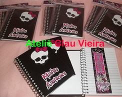 AGENDAS PERSONALIZADAS MONSTER HIGH