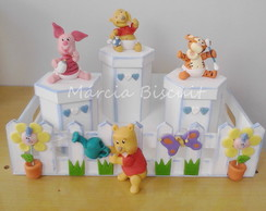 Kit de higiêne turma do Pooh baby