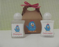 Kit mini shampoo+mini condicionador