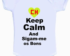 Bodys ou Camisetinhas Keep Calm