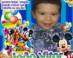 capa de revista do mickey