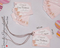 mini tags de papel textil -100 etiquetas