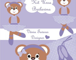 Kit Digital Ursa Bailarina