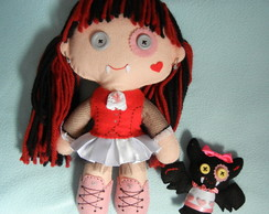 Monster High de feltro - Draculaura