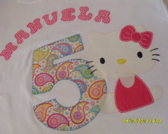 Camiseta Personalizada Hello Kitty
