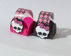 Forminhas decoradas Monster High