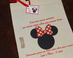 Minnie - Ecobag Infantil