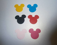 200 micro Mickey enfeite doce de colher
