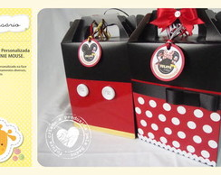 Sacola Box Mickey e Minnie Mouse