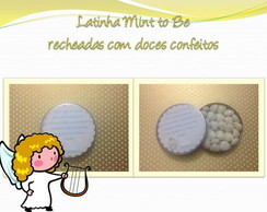 Mint To Be Mini Latinha Personalizada