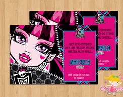 Convite Monster High mod.1