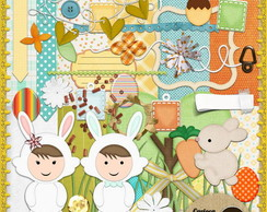 Kit para Scrapbook 221 BunnyChildren