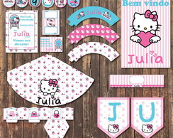Hello Kitty Festa Digital Kit Completo