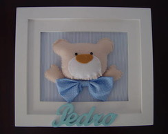 (DO 0058b) Quadro decorativo urso