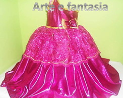 fantasia barbie escola de princesa