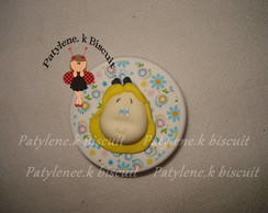 LATINHA DECORADA ALICE  DE BISCUIT