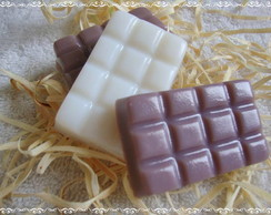 Sabonete Barra de Chocolate