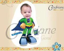 Ímã Personalizado Super Why